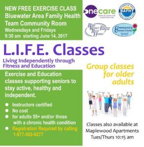 L.I.F.E Exercise Classes