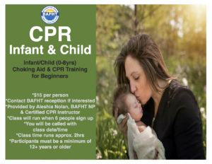 Infant/Child CPR Class
