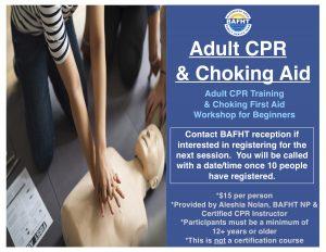 Adult CPR/Choking Aid