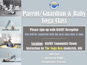 Parent/Guardian & Baby Yoga