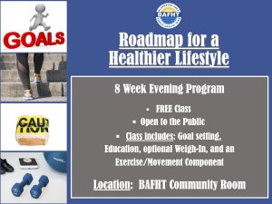 Roadmap to a Healthier Lifestyle